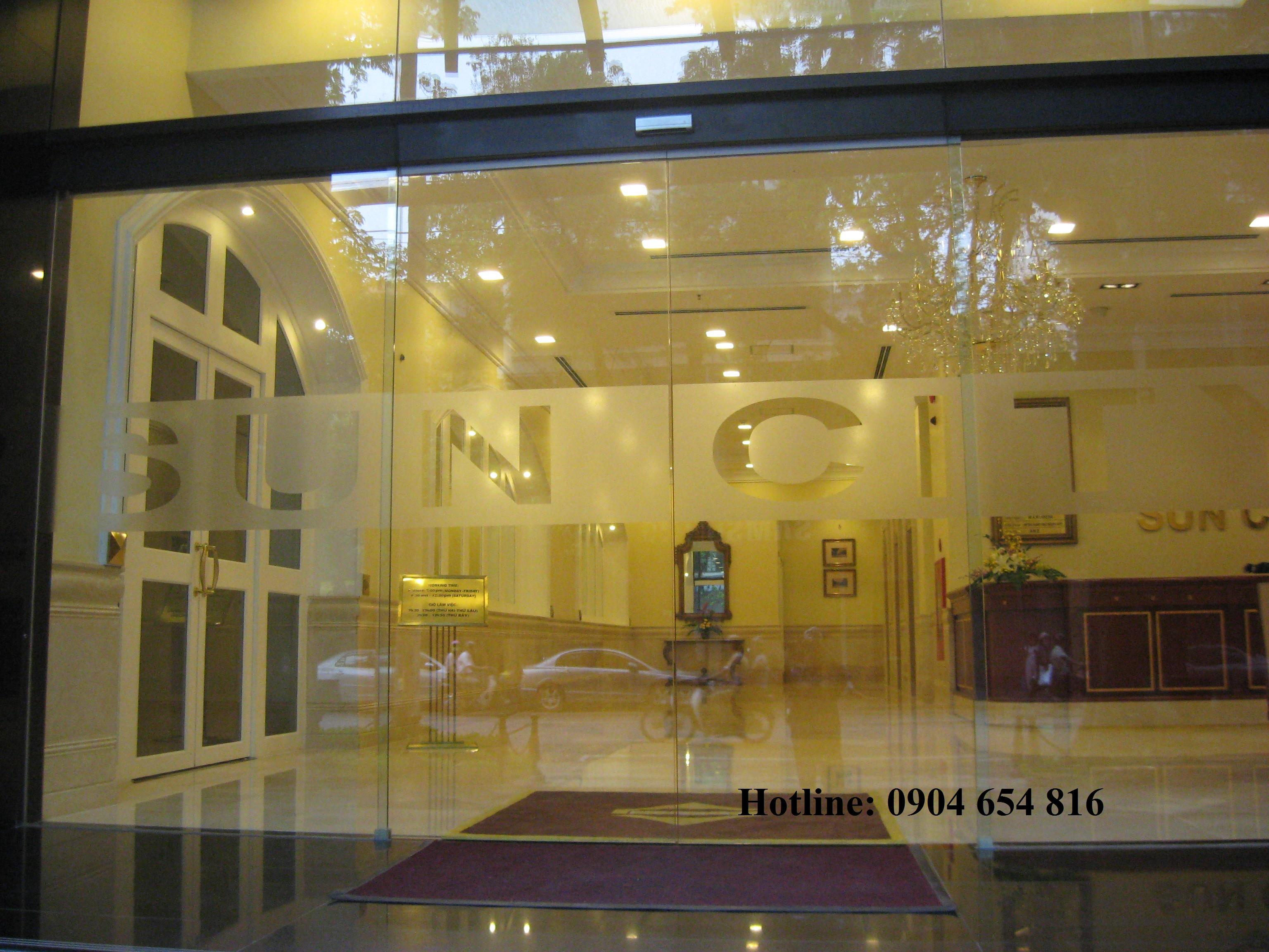 Cửa tự động khách sạn chuyên nghiệp
