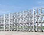 Cổng INOX co giãn tự động yinglong 107