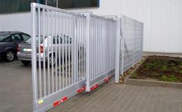 Hướng dẫn lắp đặt cổng tự động lùa kép 2 cánh Telecopic tại Trung Kính