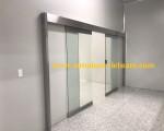 Cửa tự động cảm biến hồng ngoại 18 KCN Hải Phòng