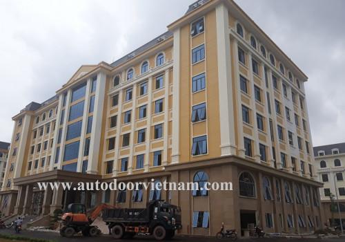5 cửa tự động lắp đặt tại trụ sở UBND Tỉnh Bắc Giang