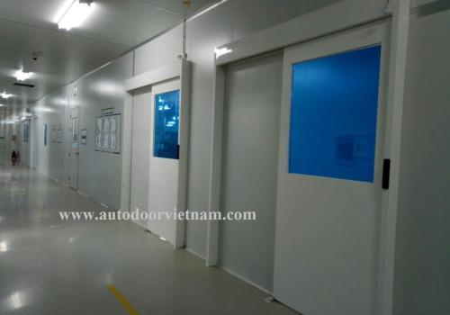 Cung cấp cửa cảm ứng tự động 21 KCN Bắc Ninh