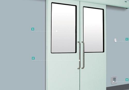 Lắp đặt cửa tự động phòng mổ bệnh viện đa khoa Lạng Sơn