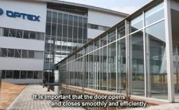 Thiết kế cửa tự động cảm biến