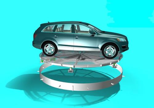 Bàn xoay ô tô tự động