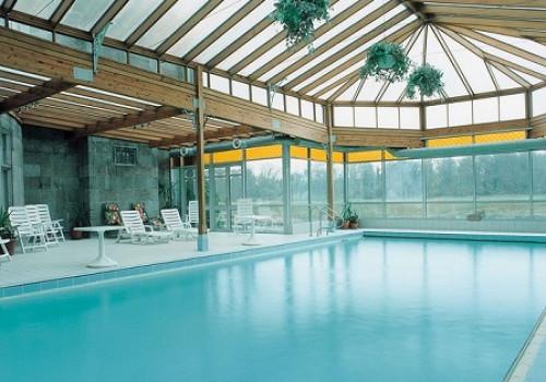 Mái che bể bơi tự động